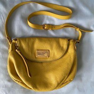 MARC JACOBS yellow Natasha Q Crossbody purse bag